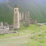 Боевые башни аула Эрзи