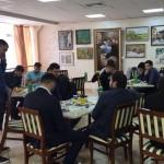 встреча с первокурсниками из Ингушетии